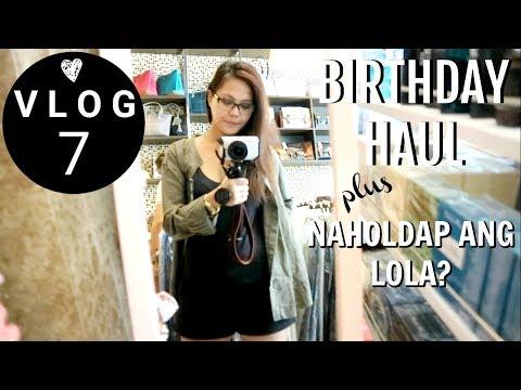VLOG #7 : BIRTHDAY HAUL  Via Austria