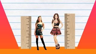 We compare ariana grande and selena gomez in height, visually with data, reveal just how much the difference is between two pop-stars!