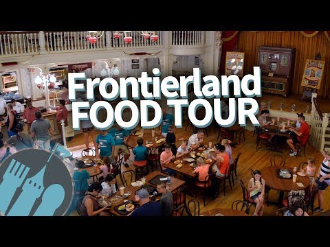 Disney World Food Tour: EVERY Food Spot in Magic Kingdom's Frontierland!