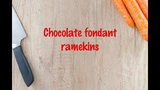 How to cook - Chocolate fondant ramekins