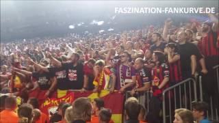Vardar Skopje Fans bejubeln Champions League Gewinn im Handball