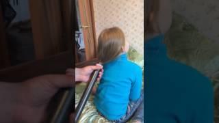 Укладка волос пылесосом