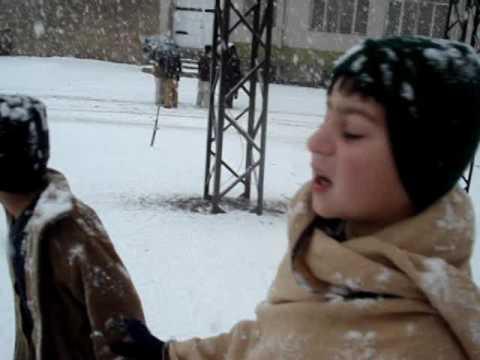 snow in landikotal on 04 02 2013