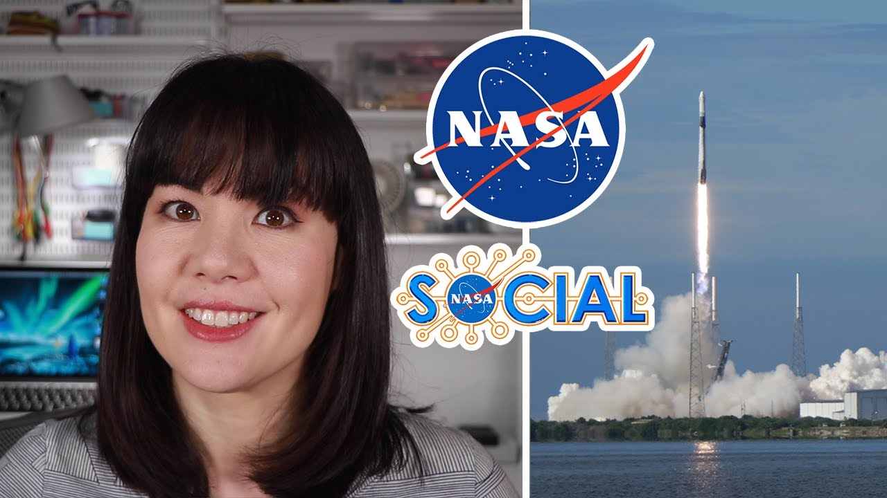 I visited NASA to watch a SpaceX Launch!  via @YouTube...