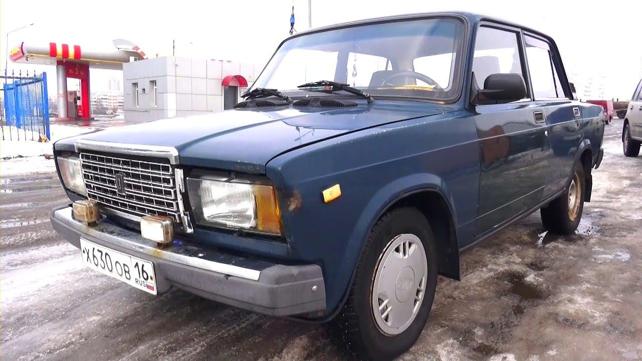 1999 ВАЗ 2107. Обзор (интерьер, экстерьер, двигатель).