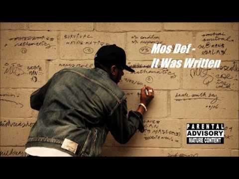 Mos Def/Nas Mashup - It Was Written