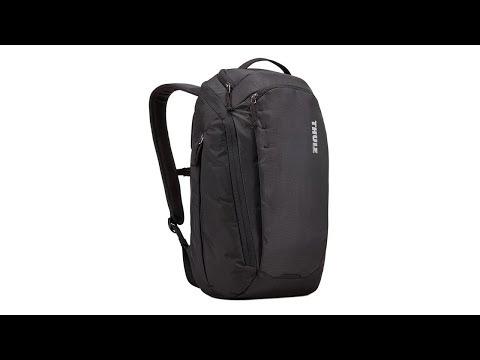 """Thule EnRoute Τσάντα Πλάτης για Laptop 15.6"""" σε Μαύρο χρώμα"""