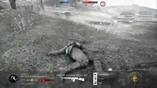 Battlefield 1 - Conquest - St Quentin Scar - Funny Avenger Roadkill