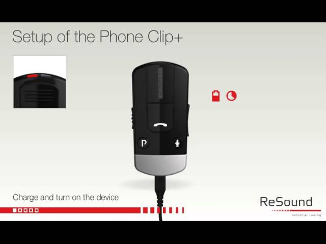 Setting up your ReSound Unite Phone Clip+