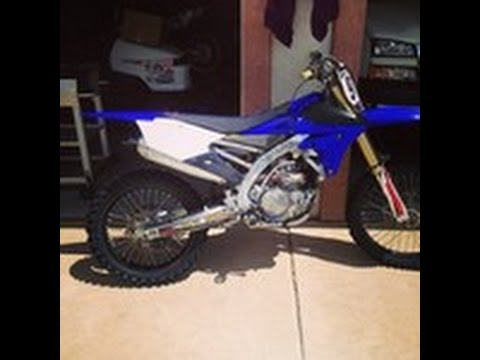YZ450F top speed - YouTube