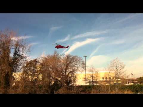 Sikorsky Helicopter S-58 Lift and Landing