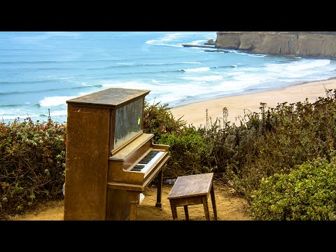 Relaxing  Instrumental Music with  Piano, Guitar and Ocean