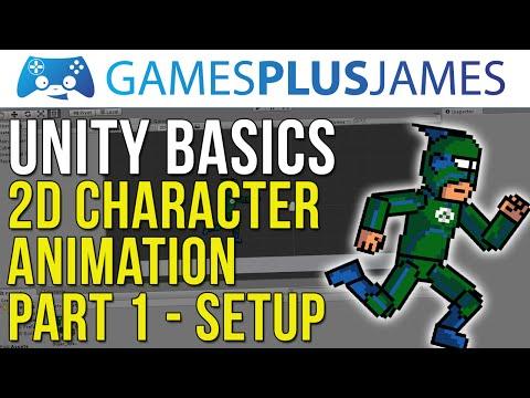 Unity Basics - 2D Character Animation #1 - Setting Up A Skeleton