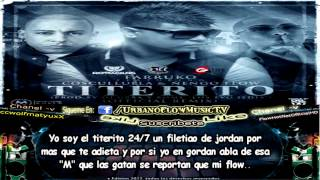 Farruko Ft. Cosculluela & Ñengo Flow - Titerito (Remix) (CON LETRA) ★REGGAETON 2012★