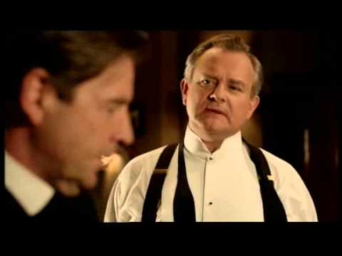 Downton Abbey Blooper: Lord Grantham's bow tie