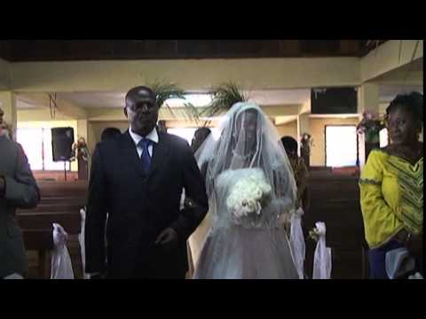 Martins Enoh white Wedding