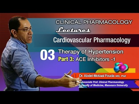 Cardiovascular Pharmacology - 03 - ACEIs (Part-1)