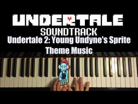 Undertale 2 - Young Undyne's Sprite Theme Music (Piano Cover by Amosdoll)