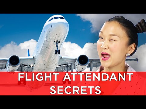 Flight Attendants Reveal Secrets About Flying