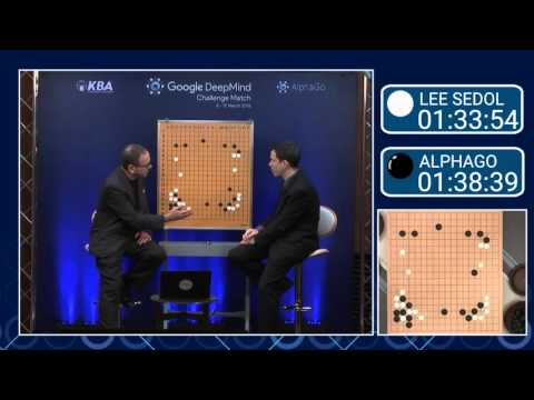Move 37!! Lee Sedol vs AlphaGo Match 2