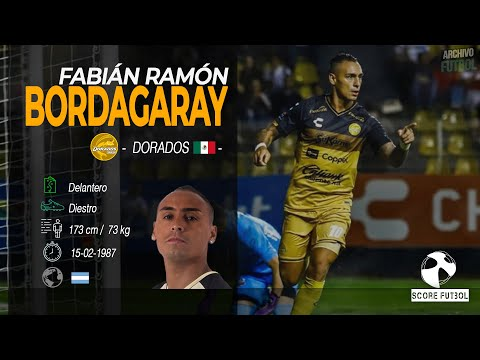 ▶️ Fabián Bordagaray ⚽️ Dorados (México)