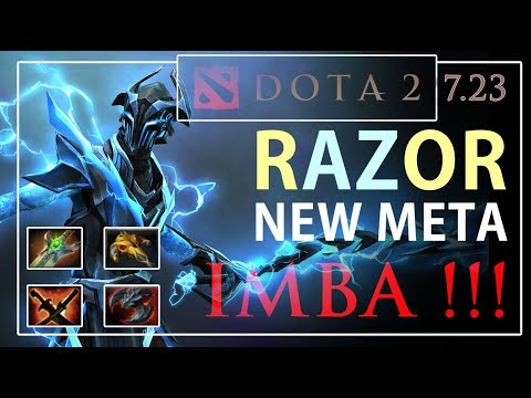 RAZOR DOTA 2 7.23 | NEW GUIDE, FAST AND CARRY
