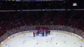 Keith! Kane! Blackhawks win the Cup! 2015 John Wiedeman