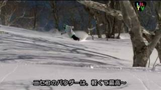 LILTV 日本を代表するガールズスノーボーダーのライディングはもちろん...