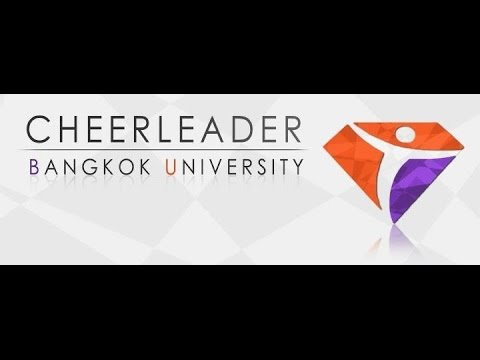 Cheerleader of Bangkok University sport's day 2015 Leadbu17