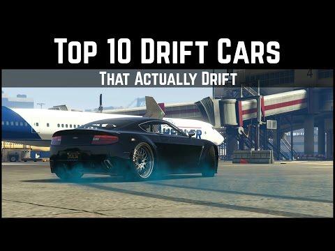 GTA 5 Top 10 Drift Cars   That Actually Drift... (GTA 5 Drifting)
