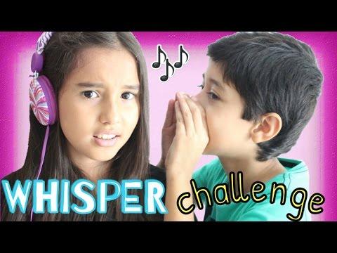 WHISPER CHALLENGE / RETO DEL SUSURRO ♥️ - Gibby