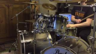 Shadows Fall Walk The Edge Drum Cover