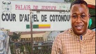 OLOYE SUNDAY IGBOHO ARRIVE COURT OF APPEAL IN COTONOC BENIN REPUBLIC TO FACE HIS FINAL JUDGEMENT