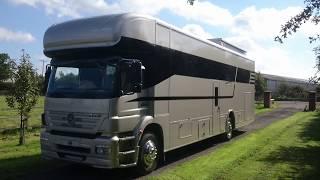HR Multisport Skyline Dominator Motorhome with Supercar Sized garage Luxury Car transporter!