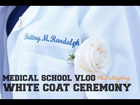 White Coat Ceremony   Med School Vlog #7