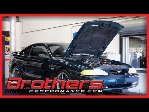 1995 Mustang GT 5.0 Manual Transmission Dyno Test At Brothers Performance