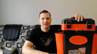 Новый ящик для зимней рыбалки Tonar Helios 10 литров Обзор