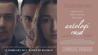 Download Official Trailer ANTOLOGI RASA (2019) - Herjunot Ali, Carissa Perusset, Refal Hady Mp3