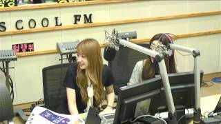 150601 EXID Hani acapella & laugh cuts  from radio show