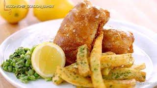 Рыба с картошкой Fish And Chips  рецепт от Гордона Рамзи