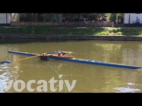 Cambridge Students Built A Row-Bot That Can... You Guessed It, Row A Boat