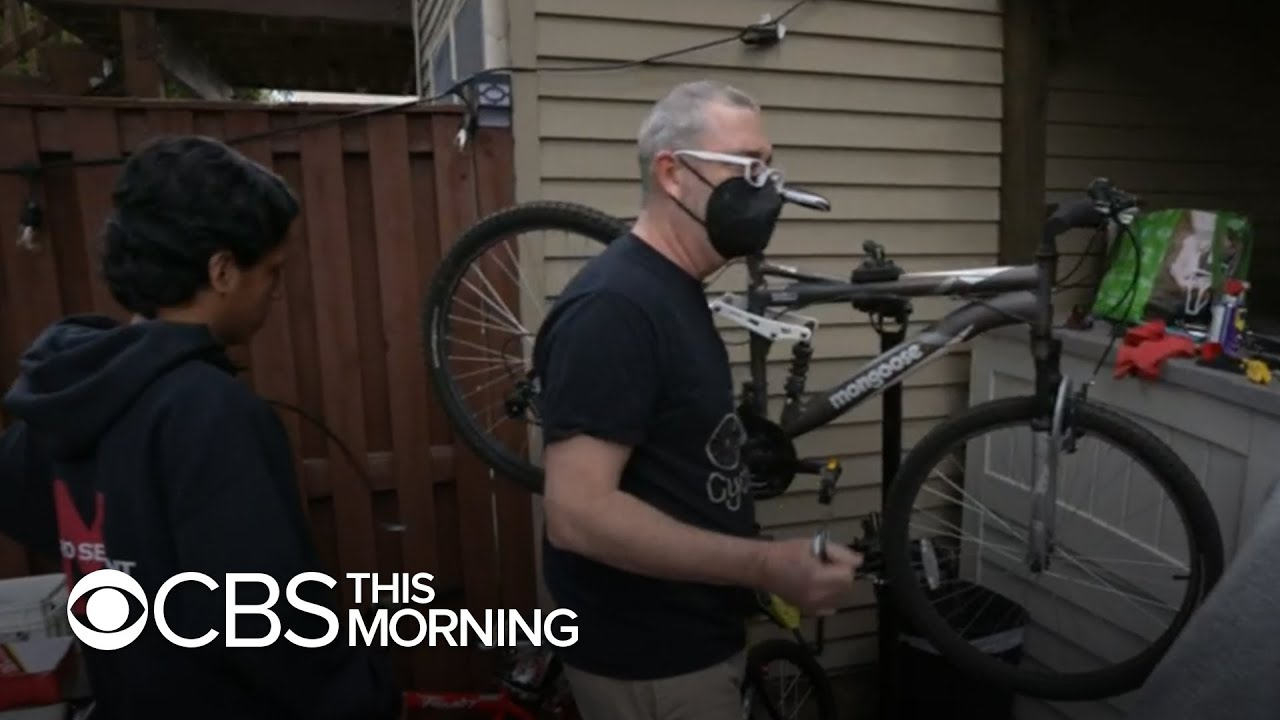 Virginia pastor turns one stolen bike into hundreds of free fixed-up bikes to help his community