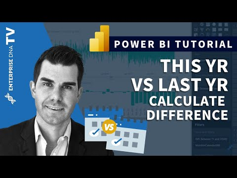Calculate Difference This Year vs Last Year in Power BI with DAX