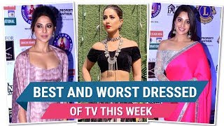 Hina Khan, Jennifer Winget, Dipika Kakar: TV's Best and Worst Dressed of the Week | Pinkvilla