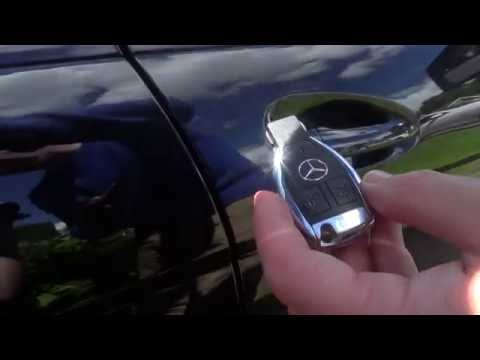 PART 2 Mercedes Benz C class W204 Handy Features - Locking System