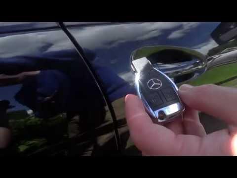 PART 2 Mercedes Benz C class W204 Handy Features - Locking