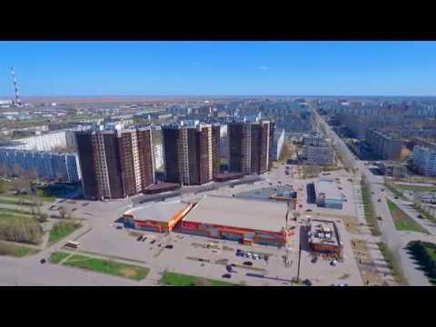 г. Волжский, Волгоградская область, микрорайоны 21 и 22. 16 Апреля 2017 года.