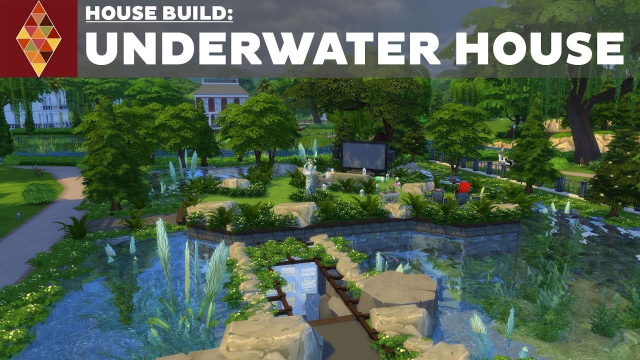 The Sims 4   House Build   Underwater House