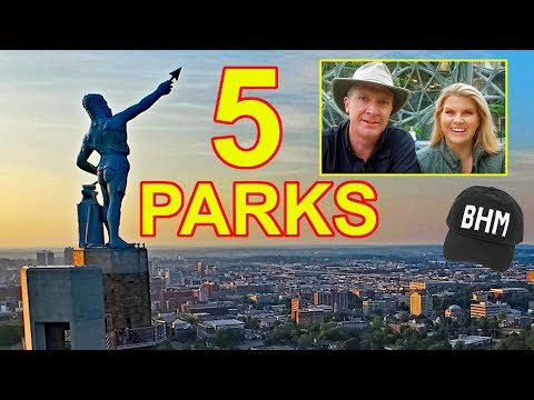 5 GREAT PARKS in... Birmingham, Alabama!