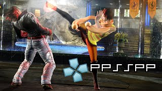 PPSSPP On Android - Tekken 6 PSP Gameplay 1080p [HD]